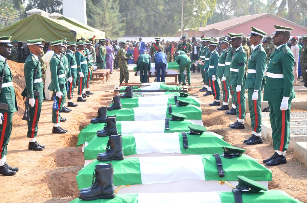 Pic.14.-Nigeria-Army-buries-14-military-personnel-attacked-by-Boko-Haram-1024x678